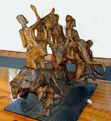 Noria Mabasa Sculpture