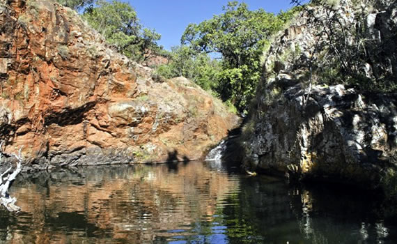 Mashovhela Rock Pool. Mashovhela - the place where drums can be heard. Mashovhela is one of the most sacred places in Tshivenda culture. This sacred site is still used by diviners and vhotshifhe (priests) in rain-making ceremonies.